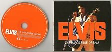 "ELVIS PRESLEY CD ""THE IMPOSSIBLE DREAM"" 2004 FTD #32 JANUARY 1971 INTERNATIONAL"