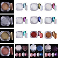 Nail Glitter Powder Dust UV GEL Nail Art  Pigment Decoration Tips DIY