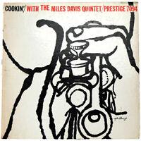 Cookin' / Miles Davis Quintet Original Prlp 7094 Mono Dg Rvg 50Th Nyc 7