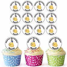 DISNEY Principessa Biancaneve 24 Personalizzati Pre-tagliati Per Cupcake Commestibili Decorazioni Per Ragazze
