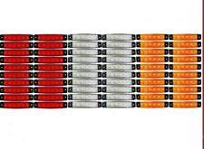 60 pcs 24V 6 LED SMD WHITE YELLOW RED SIDE MARKER LIGHT TRUCK TRAILER BUS HGV