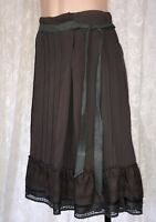JAG SIZE 8 COTTON SKIRT WITH EMBROIDERED DETAIL