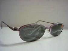 Genuine Diseñador Gafas Marcos por Clip fresco CC820 Gafas de sol CLIPON en color Rosa 584