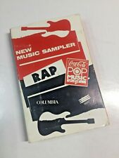 Coca Cola New Rap Music Sampler Cassette ( Cheba Hansoul Shabba Ranks )
