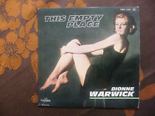 "EP DIONNE WARWICK  ""This Empty Place""+3   Columbia ESRF 1440   (1963)  Languette"