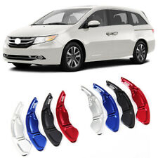 Alloy Steering Wheel DSG Paddle Extension Shifters Cover For Honda Odyssey 13-14