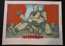 The Iron Giant Poster Silkscreen Imprimer Mondo Jay Ryan