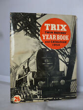 Trix Twin Railway Year Book and Catalogue 1954 - Illustrated