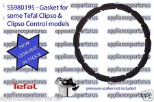 Tefal CLIPSO Pressure Cooker Lid Gasket 792350 SS980195 NEW GENUINE IN STOCK
