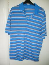 MENS NIKE BLUE GOLF TOP POLO T - SHIRT MEDIUM M
