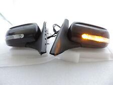 LED Manual Fold Side Mirror For 99 00 01 02 03 04~06 Mazda 323 Protege Protege5