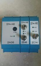 3 Used Weed Eotec 2000 2A06 Power, 2E46 Optical, 2C14 Modicon Interface Modules