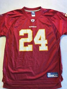 Champ Bailey Washington Redskins NFL Reebok Jersey Size Youth XL Bin 10