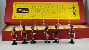 Nickolson Miniatures British Colonial Indian Army I-17 Governor Bodyguard Bombay