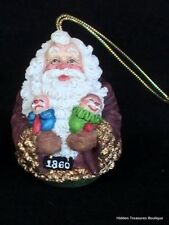 Galleria Lucchese Roman 1860 Roly Poly Santa Christmas Ornament