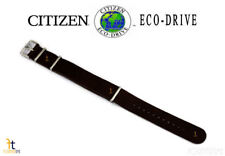 1Citizen Eco-Drive AW7039-01H 22mm Dark Brown Leather Watch Band Strap S109418