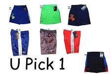 Under Armour Shorts Little Boys Athletic Sports Summer Basketball Short Pants