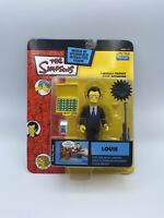 SERIES 14 LOUIE THE SIMPSONS WOS ACTION FIGURE PLAYMATES MIP