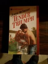 TENDER TRIUMPH JUDITH MCNAUGHT 1983 FIRST PRINTING ROMANCE NOVEL