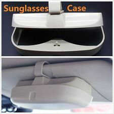 Auto Sunglasses Case Storage Bag Protector Card Ticket Pen Holder Decoration Car