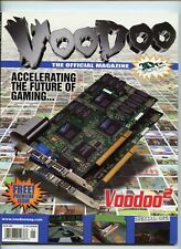 VOODOO THE OFFICIAL MAGAZINE 3DFX VOLUME 1 ISSUE 1 SPRING 1998 USED VERY RARE