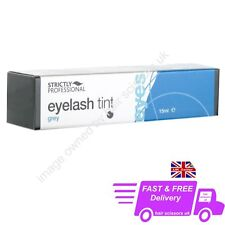 Strictly Professional GREY Eyelash & Eyebrow Dye Tint For Eye Lash Tinting 15ml