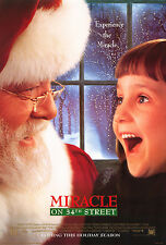 MIRACLE ON 34TH STREET (1994) ORIGINAL INTL. MOVIE POSTER  -  ROLLED  -  2-SIDED