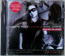 DEPECHE MODE REMIXED BY ISAAC JUNKIE * NEVER FEEL THE SILENCE * LIMITED ED CD EP