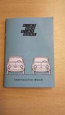 Classic Fiat 500 Owners Manual