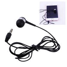 1.2M 3.5mm Mono Wire Single Earbud Earphone Headset Headphone for MP3 Interphone