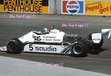 Mario Andretti Williams FW07C USA Grand Prix 1982 Photograph 4