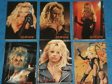 PAMELA ANDERSON is 'BARB WIRE' Complete Set of 72 Premium Trading Cards Topps