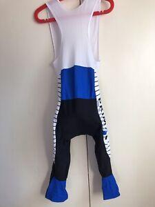 Cycling Bib Tight Knickers Thermal Fleeced 3/4 Bib Pants Bike  PRIMAL Sz M