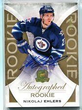 15-16 UD The Cup Rookie Autograph Gold #196 Nikolaj Ehlers #03/24