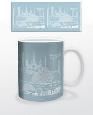CITOGRAPHY GLASGOW 11 OZ COFFEE MUG TEA CUP SCOTLAND UK GLASWEGIANS CELTIC VIEW!
