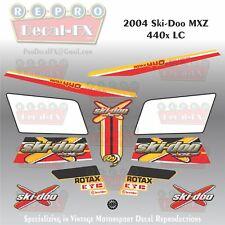 2004 Ski-Doo MXZ 440x LC Graphics Reproduction 12 Piece Vinyl Decals
