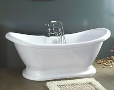 882 PEDESTAL FREE STANDING BATHTUB & FAUCET AND DRAIN SET