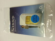 O2 / 02 Pay As You Go SIM Card standard , micro & nano size fits all phones