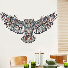 3D Owl Animal Children Bedroom Wall Sticker DIY Room Decoration Decals #HF8