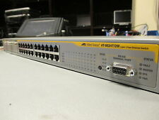 Allied Telesis AT-8624T/2M Layer 3 24 Port L3 10/100 Managed Network Desk Switch