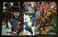 ASH (deutsch) # 0 + 1 + 2 + 3 KOMPLETT - MARVEL GENERATION COMICS 2000 - TOP