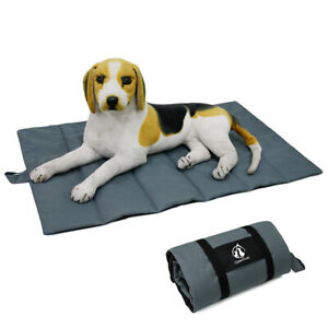 Pet Travel Blanket Dog Folding Padded Waterproof Mat Washable Outdoor Camping
