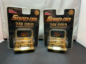 Racing Champions Snap On 24K Gold 1998 Chevy Monte Carlo NASCAR 1/64 Diecast Lot