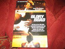 Glory Road My Story of the 1966 NCAA Basketball Championship...DON HASKINS PB SG