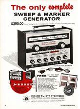 1969 Sencore SM152 Sweep Marker TV Test Equipment Vtg Print Ad