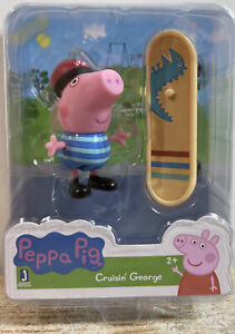 """Peppa Pig Cruisin' George 2.5"""" Mini Figure Jazwares"""