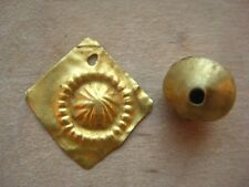 ANCIENT GOLD MEDIEVAL Amulet Viking Kievan Rus 100-500 century AD