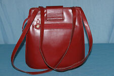sac RUSSELL NASH  simili cuir  Rouge vif BE