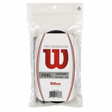 WILSON SENSATION PRO overgrip 30 Pack Nero Grip Tennis Padel Tennis, Badminton