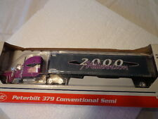 SPECCAST1/64 SCALE LIMITED EDITION DIE-CAST PETERBILT 379 CONVENTIONAL Y2K SEMI